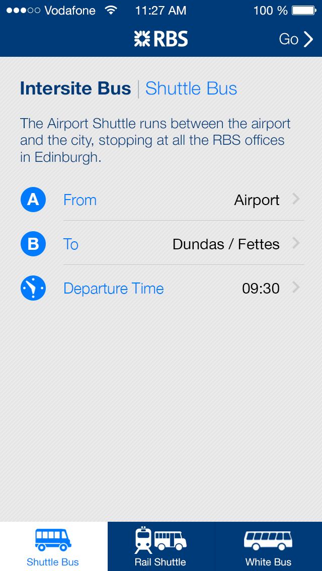 Intersite Bus Route Selector