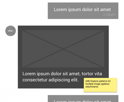 Chat Wireframe v2 (iOS)